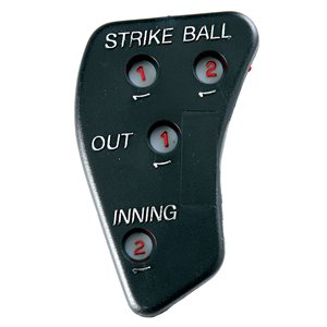 Baseball umpire indicator