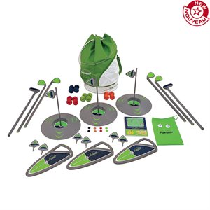3-hole golf set, elementary school