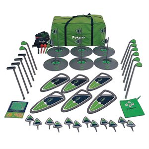 6-hole golf set, elementary school