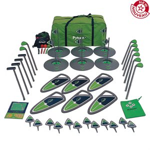 6-hole golf set, elementary school