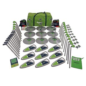 9-hole golf set, high school