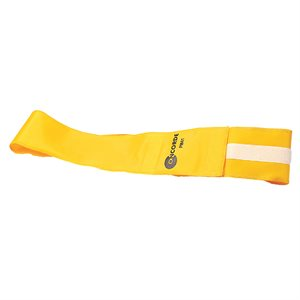 Velcro identification belt, yellow