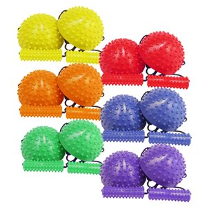 6 pairs of squish steppers