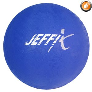 Playground rubber ball, blue