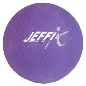 Playground rubber ball, purple