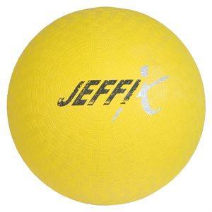 Playground rubber ball, yellow