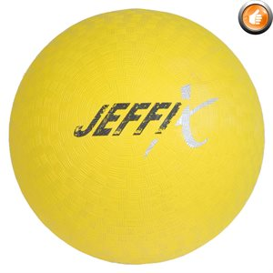 Playground rubber ball, yellow