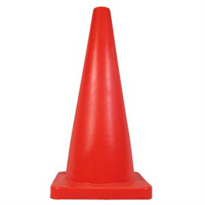 PVC weighted cone, 28""