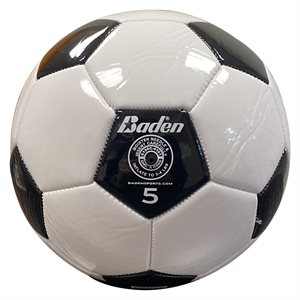 Baden synthetic leather soccer ball, #5