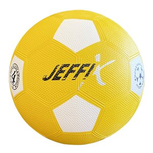 Rubber recreative soccer ball