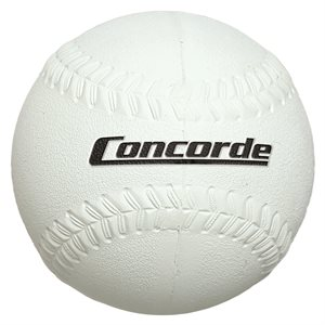 Hard rubber softball, 12""