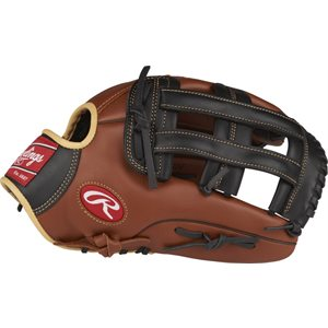 "Softball glove, 12 3 / 4"""