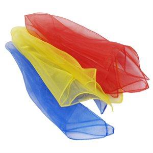 3 juggling scarves