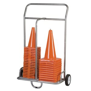 Storage cart for scooters and cones
