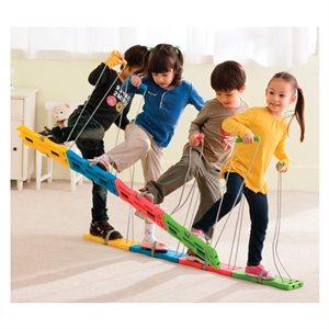 4 pairs of Team Walker skis