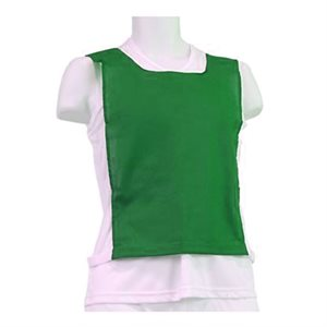 COTTON PINNIE, ELASTIC AND VELCRO, Green