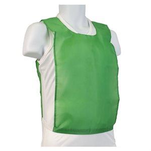 Nylon pinnie, green