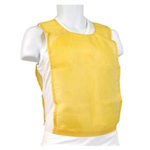 Nylon pinnie, yellow