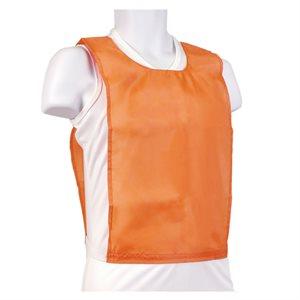 Nylon pinnie, junior size, orange