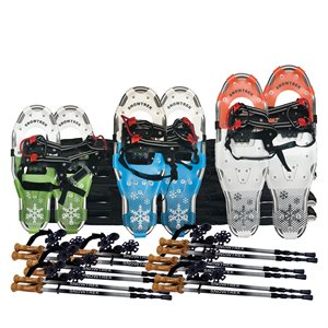 Snowshoes kit for elementary school