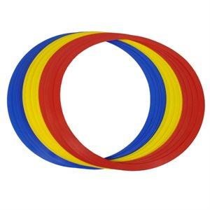 12 plastic speed rings