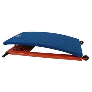 Training springboard, firm springs