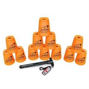 12 Speed Stacks cups, orange