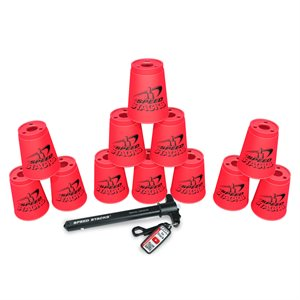 12 Speed Stacks cups, pink