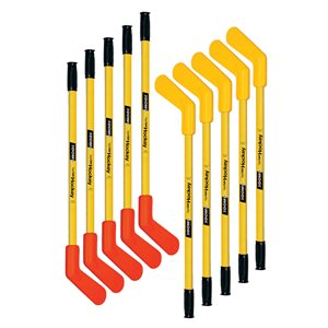 10 DOM Supersafe hockey sticks