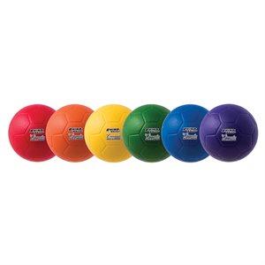 Foam soccer ball w / Speedskin cover