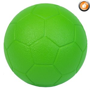 Foam soccer ball with Speedskin cover