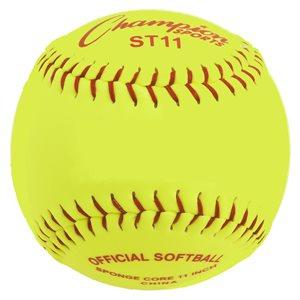 12 safety softballs