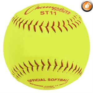 12 safety softballs