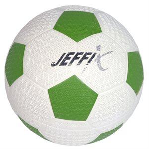 Resistant rubber soccer ball