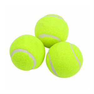 3 beginner tennis balls