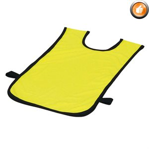 Polyester pinnie, Ages 2-5, yellow