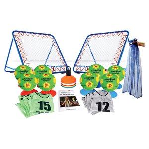 Set of 43 tchoukball items, junior
