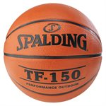 Spalding rubber basketball