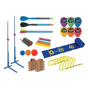 Set of 23 trackfield items, primary