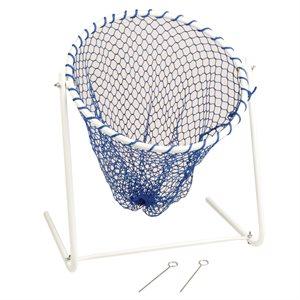 Pivoting golf target net