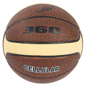 Cellular™ composite basketball, brown / cream