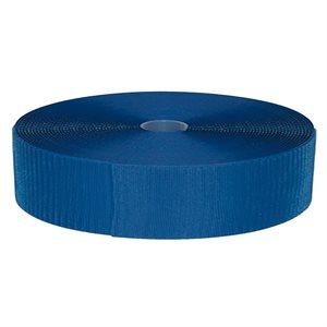 Velcro band for FlexiRoll mat, blue