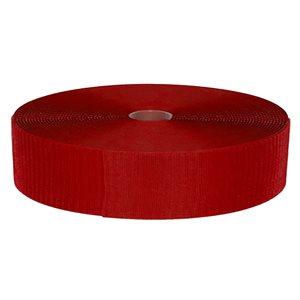 Velcro band for FlexiRoll mat, red