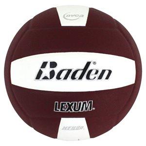 Baden volleyball, maroon / white
