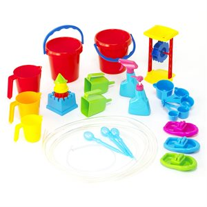 Set of 27 water toys