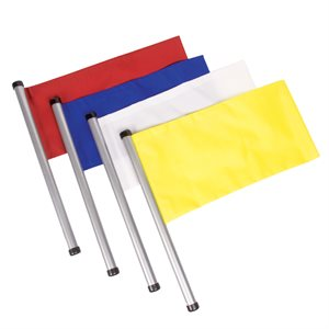 4 water polo referee flags