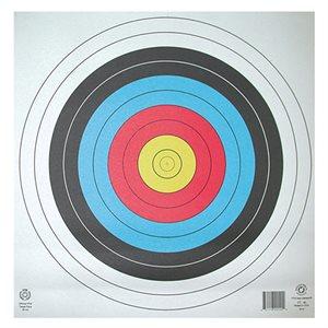 Waterproof round paper target