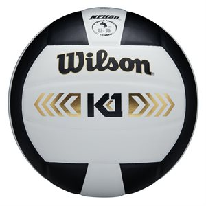 Wilson K1 volleyball, white / black