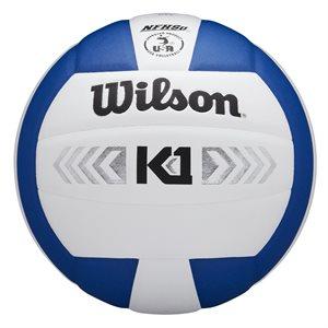 Wilson K1 volleyball, white / navy
