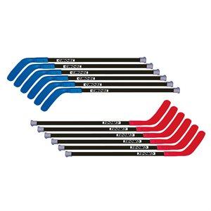 "12 DOM Excel hockey sticks, 45"""